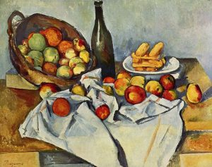 Paul Cezanne -The Basket of Apples 1890–1894 Art Institute of Chicago