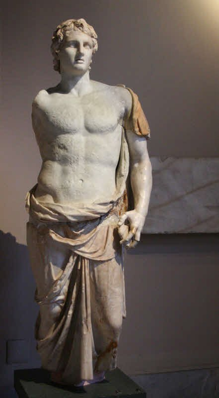 Statue of Alexander in Istanbul Archaeology Museum